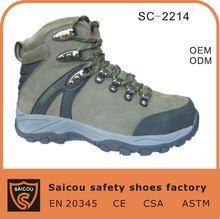 Guangzhou steel toe safety footwear factory (SC-2214)