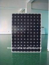 high power monocrystalline solar panel for 210W