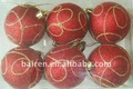 Plástico bola de natal presentes