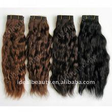 russian virgin hair weave natural hair extension