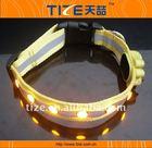 Reflective and jewel flashing led dog collar waterproof led dog collar TZ-PETA1002