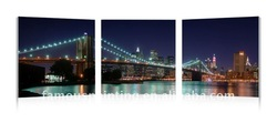 Wall photos of city skylines