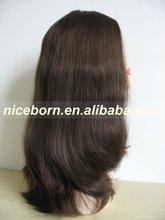Unique design European hair fashion wig