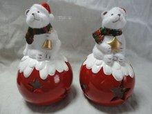 Newest Christmas Bear Candle holder