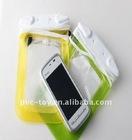 promotional waterproof pvc duffel bag for mobilephone