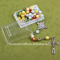 Religious Rosary Rectangular Box Gift Box