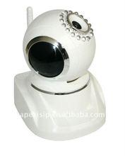 Indoor Security Wireless Pan Tilt IP Camera
