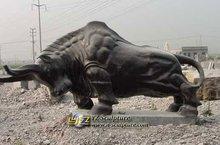 Beautiful Stone Bull Sculpture Cattle Statue