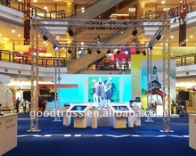 4 towers Indoor expo 6.5X6.5X5M Aluminum Alloy Truss For Shows -- truss frame