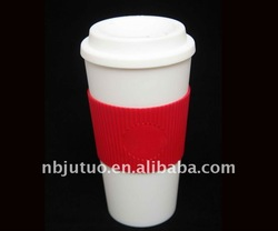 double wall plastic coffee cup