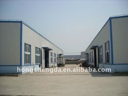 german steel structure villa prefabricated house/home warehouse