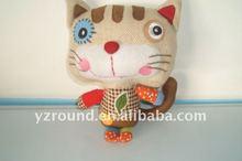 plush lovely toy rag cat toy
