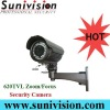 "1/3""Sony Zoom/Focus CCTV infrared lamp camera"