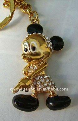 Mickey mouse llavero, Clave de la cadena, Llavero
