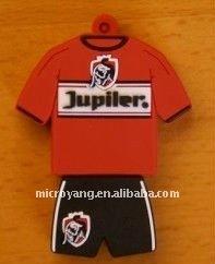 4GB USB Flash Drive - Football Sport swear red T-shirt 4g