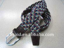 woven fabric fashion lady waistbelt seatbelt