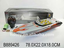 plastic rc boat toy