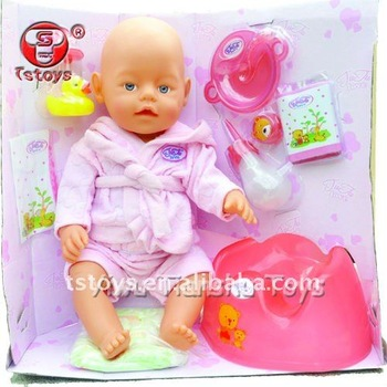 Real baby reborn doll with 8 function