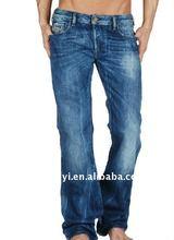 wholesale man's denim jeans pants fabric 2012