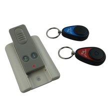 RF locator for lost keys, luggage, remote controller.