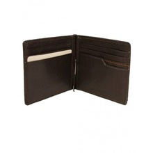 Professional Leather Money Clip Wallet /western style leather money clip wallet/thin leather wallets with money clip