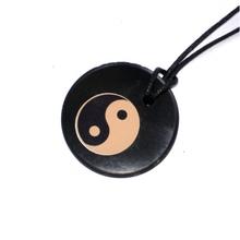 "Shungite Pendant ""Yin & Yang"""