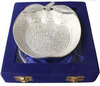 Silver Plated Gift Fantastic Decorative Bowl Dry Fruit Serving Bowl