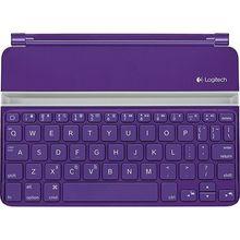 Logitech Ultrathin iPad Mini Bluetooth Keyboard Cover PURPLE