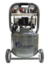 California_Air_Tools_CAT-10020_Ultra_Quiet_and_Oil-Free_2.0_HP_10.0-Gallon_Steel_Tank_Air_Compressor