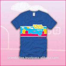 rubber print on t-shirt