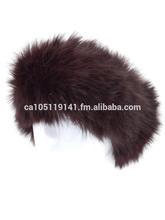 Winter Knit Rabbit Fur Headband
