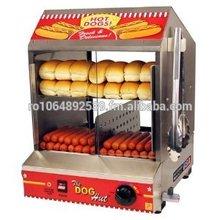Dog Hut Hotdog Steamer and Merchandiser