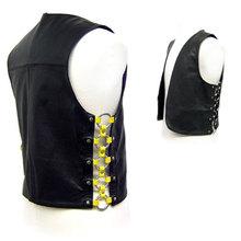 Fashion Leather Vests For Men / PI-LFV-40