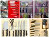 Knife Sets Knife Blocks and more. TOP DEMONSTRATION LINE - 8 x mark up