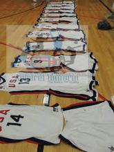 Juventud alta calidad de encargo seco en forma de baloncesto conjunto uniforme