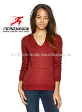 2012 popular women fashion Red Hoodie