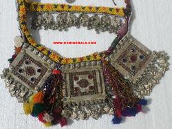 Kuchi,metallic,beaded,necklace/946