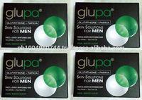 4 Glupa Glutathione Papaya Skin Whitening Soaps for MEN 100g each