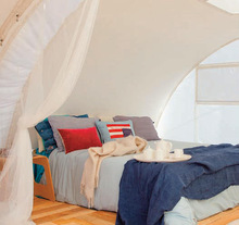 HIGH QUALITY LUXURY HOTEL TENTS WITH KING SIZE SPACE AVAILABLE AND HIGH LUMINOSITY