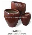 Vietnamita - vitrificadas - vasos - fornecedor / vermelho cerâmica vidrada panelas ao ar livre