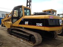 used caterpillar excavator CAT 320 second-hand excavator 320c/320b/320d/325b/325c