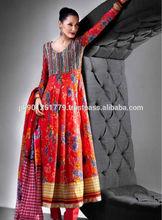 Wholesale Designer Suit Casual Wear Bollywood Indian Cotton Churidar Pakistani Salwar Kameez Suit Lawn Suit , Pakistani lawn