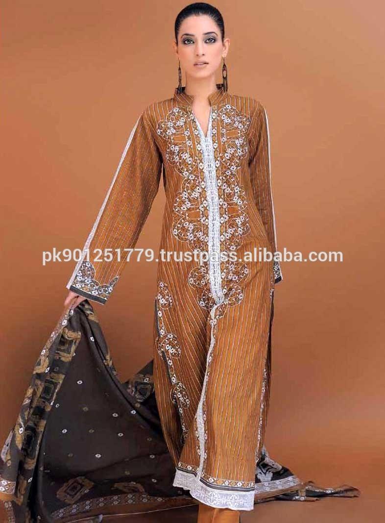 Alibaba.com Pakistani Designer Clothes Wholesale Designer Suit Casual
