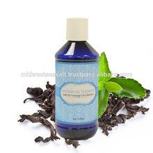 Aroma Oil Therapy Green Tea Bath & Massage Oil - 8 Oz