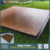 Cheap vinyl pvc flooring Dance Floor PVC outdoor decking for sale
