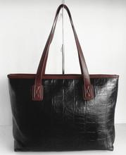 Stone Pattern leather Vogue women handbags fashion lady shopping bags