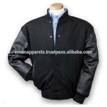 De calidad superior 100% algodón de mezclilla chaqueta del equipo universitario normal venta al por mayor jeans