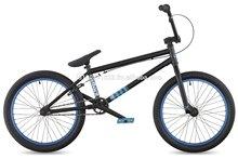 "DK Effect 2011 BMX Bike, 20"" Black with cyan rims"