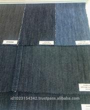 "9.5 oz, 62/63"", blue black 50% cotton 50% polyester denim fabric"