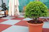 ReFlex Terrace rubber tile